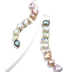 NWT BaubleBar Crystal Drop Earrings